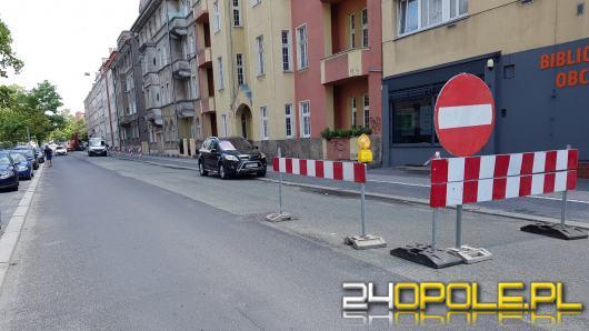 Remonty na drogach w centrum Opola. Lepiej jechać rowerem?