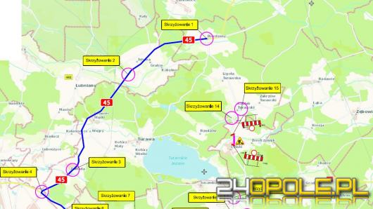 Kilka miesięcy objazdów czeka użytkowników drogi wojewódzkiej 463 oraz DK 46