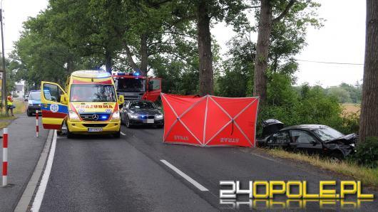 Śmiertelny wypadek na trasie Krzanowice - Czarnowąsy. Nie żyje kobieta