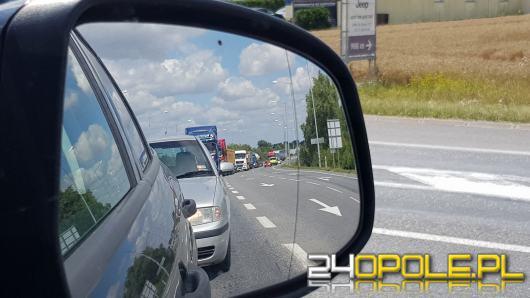 Korki na obwodnicy Opola to wina objazdów