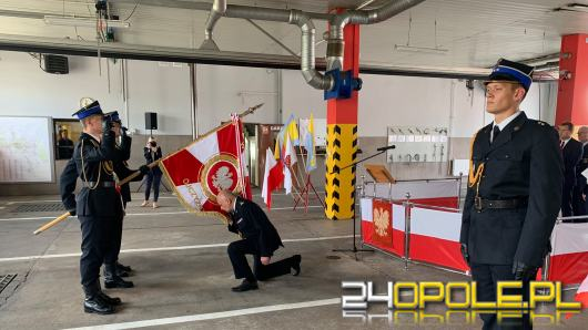 bryg. Leszek Koksanowicz został Komendantem Miejskim Państwowej Straży Pożarnej w Opolu