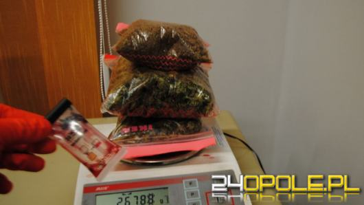 Wwiozła do kraju narkotyki o wartości blisko 80 tysięcy złotych
