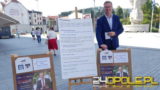 Ryszard Wilczyński stawia na lokalność przyjazną, bezpieczną, czystą i zdrową