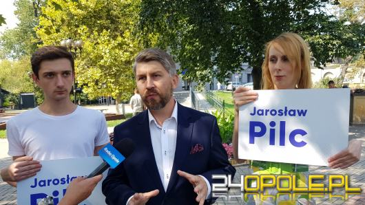 Jarosław Pilc gotowy na wybory. Cel - przywództwo w Lewicy w regionie i mandat posła
