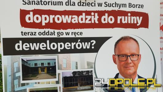 """Janusz Kowalski: """"Wicemarszałku, ujawnij szczegóły sprzedaży ośrodka w Suchym Borze"""""""