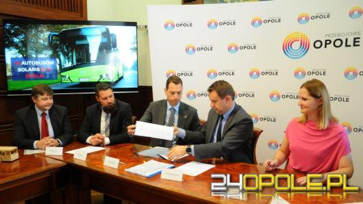 10 nowych autobusów zasili miasto Opole. Kiedy wyjadą na ulicę?