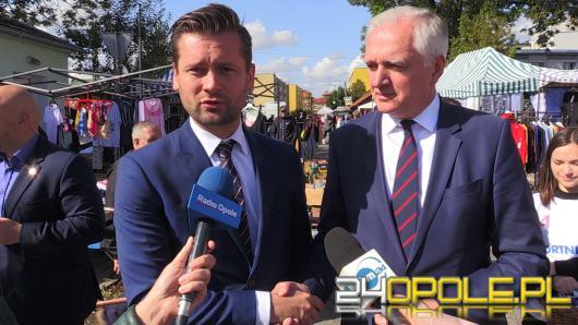 """Jarosław Gowin: """"Trochę wygląda to tak, jakby opozycja oddała nam zwycięstwo walkowerem"""""""