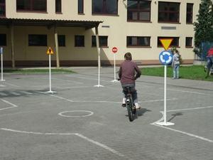 Uczyli się ekologicznej jazdy i przepisów ruchu drogowego
