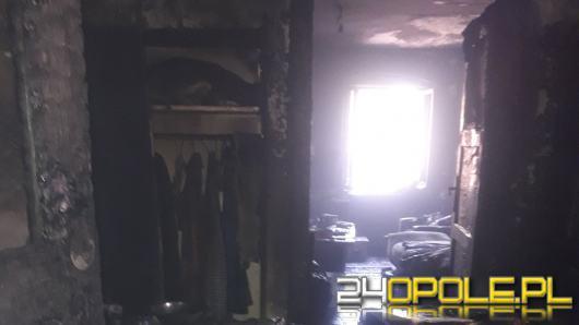 Pożar domu w Krapkowicach. Jedna osoba nie żyje