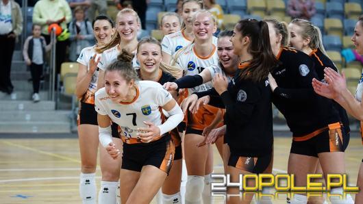 Siatkarki UNI Opole zdobyły pierwsze ligowe punkty