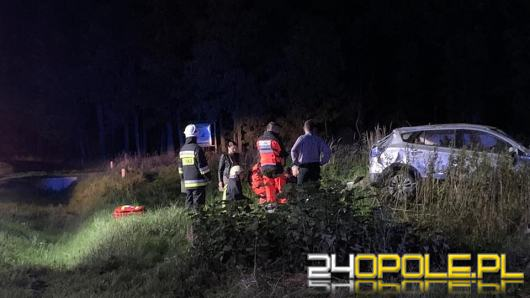 Wypadek na trasie Bierdzany-Trzebiszyn, sprawca pijany