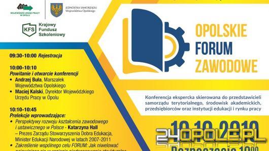 W Centrum Wystawienniczo-Kongresowym odbędzie się Opolskie Forum Zawodowe