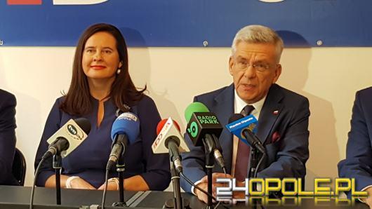 Marszałek Karczewski z wizytą na Opolszczyźnie i poparciem dla kandydatów do Senatu