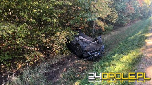 Zderzenie Mercedesa i Volkswagena na DW 426