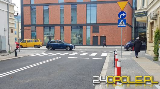 Uwaga kierowcy! Ulica Kośnego otwarta i przejezdna w obu kierunkach
