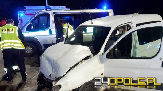 Nietrzeźwy spowodował wypadek, na pace przewoził skradziony motorower