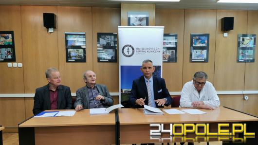 Uniwersytecki Szpital Kliniczny w Opolu wyremontuje dwa kolejne oddziały
