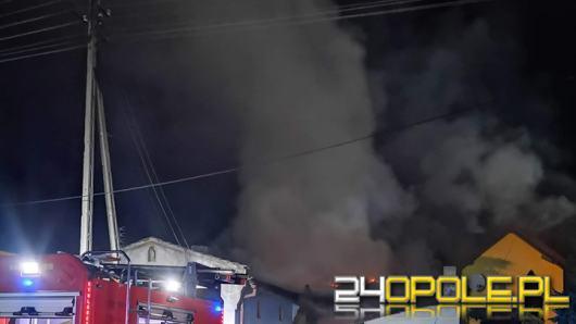 9 zastępów straży walczyło z pożarem budynków mieszkalnych