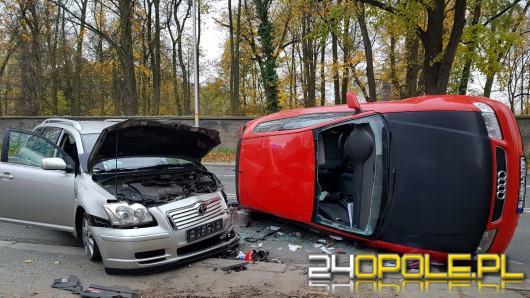 Wypadek pod ZUS-em na Wrocławskiej. Są utrudnienia w ruchu