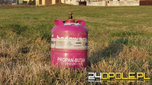 Wybuch butli z gazem w Suchej. Poszkodowane 2 osoby