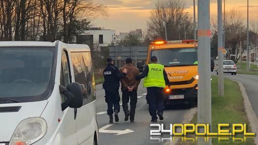 Wypadek na obwodnicy Opola. Kierowca pijany