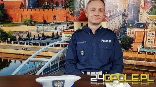 Podinsp. Maciej Milewski - za złamanie przepisu o jeździe na suwak grozi mandat do 500 zł