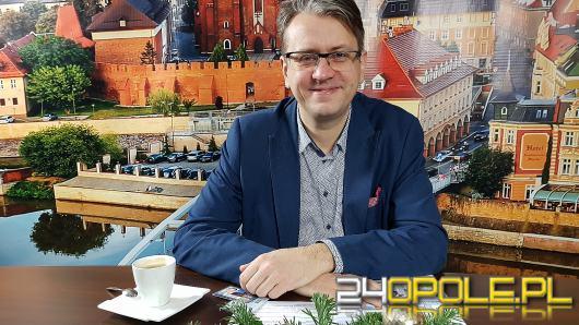 Tomasz Zawadzki - przed startem Opolki było trochę nerwów