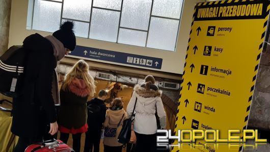 Remont na dworcu PKP w Opolu. Co się zmieni?