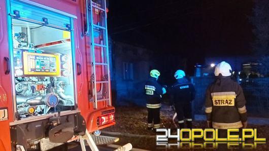 Dwie stodoły spłonęły minionej nocy na Opolszczyźnie