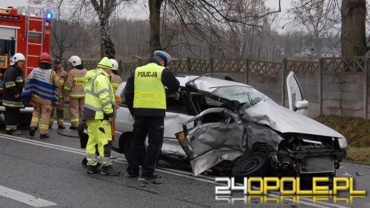 Policja poszukuje świadków wypadku z Dąbrowy Niemodlińskiej