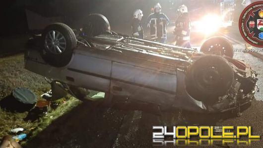 Dwa samochody zderzyły się na trasie Gorzów Śląski - Praszka