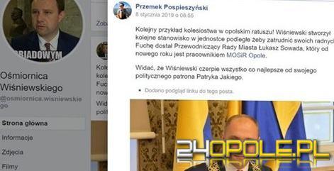 Fatalny błąd Facebooka odkrył karty. Radny tworzył treści hejterskie na prezydenta?