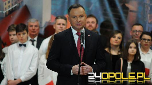 Prezydent Andrzej Duda odwiedził Namysłów