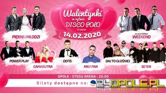 14 lutego odbędzie się kolejna edycja Walentynek w rytmie Disco Polo