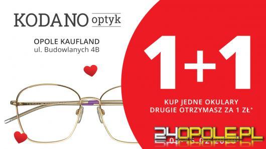 Walentynkowa promocja - drugie okulary za 1 zł!