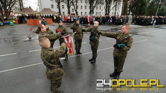 48 elewów złożyło przysięgę w 10 Brygadzie Logistycznej w Opolu
