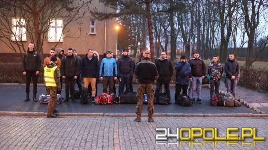 Pierwsi powołani Terytorialsi na Opolszczyźnie rozpoczęli szkolenie