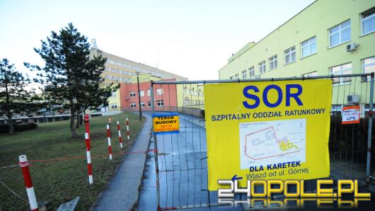 Opóźnia się termin oddania nowego SOR-u w Uniwersyteckim Szpitalu Klinicznym w Opolu