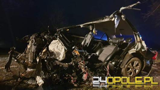 Śmiertelny wypadek w Suchej. Zginął 23-letni kierowca