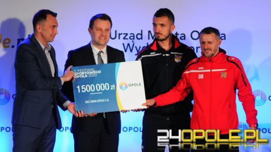 Przyznano nagrody dla wybitnych sportowców i klubów z Opolszczyzny