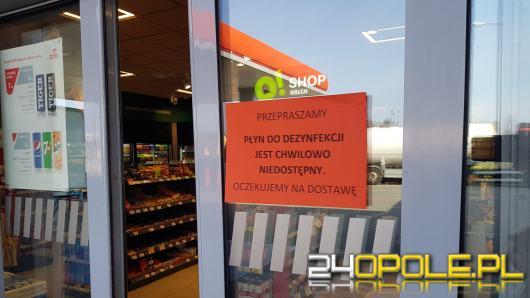 W Opolu ciężko kupić płyn do dezynfekcji rąk