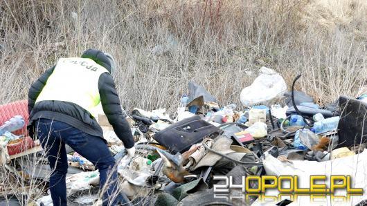 21-latek pozbył się śmieci - został namierzony przez policjantów