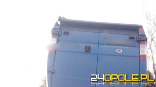 Bus dachował na 275 km autostrady A4