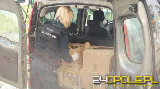 KAS przekazała do opolskiego Sanepidu partię zatrzymanego alkoholu do walki z COVID-19