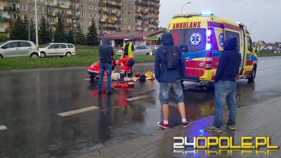 Potrącenie na ulicy Sosnkowskiego. Niebezpieczne przejście dla pieszych znów daje o sobie znać