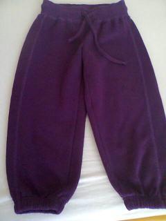 ciepłe spodnie dresowe
