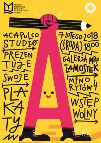 Wystawa: Acapulco Studio - PLAKATY