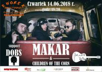 Koncert: MAKAR & CHILDREN OF THE CORN.