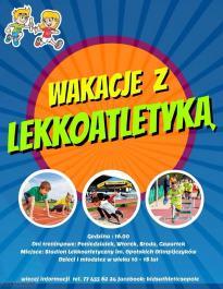 Wakacje z lekkoatletyką 2018 (10-18 lat)