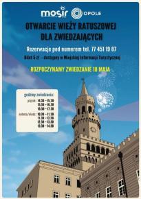 Otwarcie Wieży Ratuszowej dla zwiedzających
